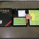 บอร์ดโค้ช กระดานผู้ฝึกสอนฟุตบอล (เล่มใหญ่)
