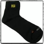 ถุงเท้า H3 Classic สั้น (สีดำ)