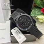 EMPORIO ARMANI Renato Chronograph Black Dial Men's Watch AR2498