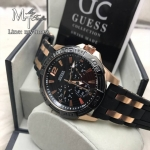 Guess Sporty W0366G3 Men's Watch Black