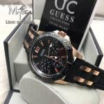 Guess Sporty W0366G3 Men's Watch Black