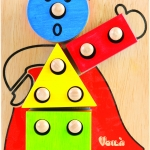 ตัวตลกหรรษา ของเล่นไม้ฝึกประสบการณ์ ของเล่นเสริมทักษะก่อนวัยเรียน