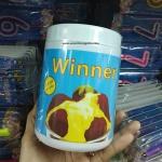 ผงคัสตาร์ด สำเร็จรูป custard powder ยี่ห้อ Winner's ตราวินเนอร์ ใช้ราดหน้าขนม ทำไส้เอแคล