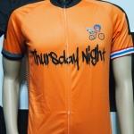ตัวอย่างเสื้อ-กางเกงปั่นจักรยาน ออกแบบตามความต้องการลูกค้า Thursday Night