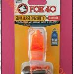 นกหวีด FOX 40 Sonik Blast CMG สีส้ม NEW MODEL