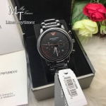 Armani Luigi Black Dial Men's Chronograph Watch AR1509