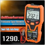 PEAKMETER PM8248S Smart Fully AutoRange Professional Digital Multimeter สำหรับช่างมืออาชีพ