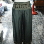 กางเกงเล กางเกงทรงจินนี่ กางเกงขายาว ผ้ายืดเนื้อนิ่มใส่สวยสบายตัว