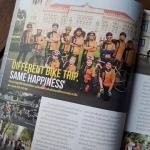 ชมรมจักรยานประชาชื่น ได้รับเชิญจากนิตยสาร a day และ Casio การปั่นจักรยานรอบเกาะรัตนโกสินทร์