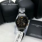 Emporio Armani Men's Classic Black Ceramica Chronograph AR1413