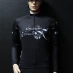 เสื้อปั่นจักรยานสีดำ รุ่น 4 (ป้ายดำ)