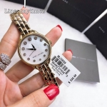 นาฬิกาข้อมือ MARC JACOBS Betty White Mother Of Pearl Dial Ladies Watch MJ3509