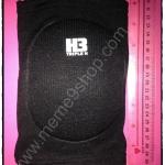 สนับเข่า H3 (สีดำ) แบบสั้น ฟองน้ำ