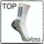 ถุงเท้ากันลื่น H3 Super สั้น (สีขาว)