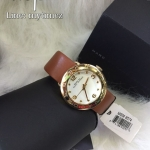 นาฬิกาข้อมือ Marc By Marc Jacobs รุ่น Amy Quartz White Dial Ladies/Gold Watch MBM8574