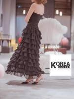 กระโปรงแฟชั่น Fuffy Layer Long Skirt