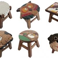 เฟอร์นิเจอร์ ของตกแต่งบ้าน เก้าอี้ไม้ เก้าอี้เด็ก เก้าอี้สตูล