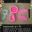 พิมพ์ซิลิโคน 3D พิมพ์พวงมาลัย 1 ชุด มี 4 ชิ้น พร้อมตัวอักษร รักพ่อ รักแม่ thumbnail 2
