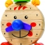 นาฬิกาหรรษา ของเล่นเสริมสร้างการเล่นรู้ ของเล่นฝึกสมอง เกมส์ไม้ thumbnail 1