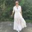 แม็กซี่เดรส Landmee Romance Love Maxi Dress สีขาว thumbnail 1