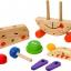 นาฬิกาหรรษา ของเล่นเสริมสร้างการเล่นรู้ ของเล่นฝึกสมอง เกมส์ไม้ thumbnail 3