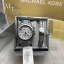 MICHAEL KORS Blair Chronograph Silver Dial Stainless Steel with Chambray Acetate Ladies Watch MK6137 + Bracelet Set thumbnail 1