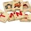 ของเล่นจิ๊กซอว์ไม้ เกมส์จับคู่คำศัพท์ ตัวอักษร A-Z ให้สัมพันธ์กัน thumbnail 3