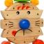 นาฬิกาหรรษา ของเล่นเสริมสร้างการเล่นรู้ ของเล่นฝึกสมอง เกมส์ไม้ thumbnail 5