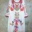 แม็กซี่เดรส Boho Embroidery Maxi Dress thumbnail 4