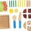 ของเล่นเสริมสร้างจิตนาการ ของเล่นเด็ก กับชุดอาหารจานหลัก แบบจำลอง thumbnail 2