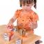 ของเล่นเด็ก จิ๊กซอว์ไม้ ตัวต่อไม้ ประเภทลูกเต๋าสัตว์ป่าในซาฟารี thumbnail 2