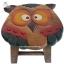 เก้าอี้สตูล รูปแกะสลักนกฮูก เก้าอี้ไม้ สำหรับห้องนั่งเล่นเด็กๆ thumbnail 3