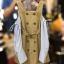 เดรสเปิดไหล่ Castella Open-Shoulder Dress สีกากี thumbnail 6