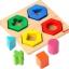 กระดานเรขาคณิตหลากสี ของเล่นเสริมสร้างสติปัญญา ของเล่นฝึกสมอง thumbnail 3
