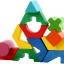 กระดานเรขาคณิตหลากสี ของเล่นเสริมสร้างสติปัญญา ของเล่นฝึกสมอง thumbnail 6