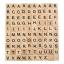 Wooden Scrabble บล๊อคไม้ตัวอักษร ของเล่นพัฒนาสมอง ของเล่นไม้ thumbnail 4