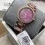 MICHAEL KORS Mini Parker Multifunction Plum Mother of Pearl Ladies Watch MK6403 thumbnail 2