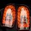 สนับแข้ง H3 รุ่น Double ป้องกัน 2 ชั้น (สีส้ม) ไซส์ S/S thumbnail 2