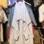 เดรสเชิ้ตลายริ้ว Cutout Shoulder Stripe Dress Shirt thumbnail 7