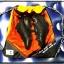 กระเป๋าH3 TOURING BAG (สีส้ม) thumbnail 4