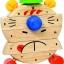 นาฬิกาหรรษา ของเล่นเสริมสร้างการเล่นรู้ ของเล่นฝึกสมอง เกมส์ไม้ thumbnail 2