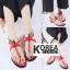 รองเท้าแฟชั่น Summer Collection Shoes Red thumbnail 3
