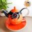 ชุดกาน้ำชา Tea For One - Lucky Cat
