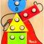 ตัวตลกหรรษา ของเล่นไม้ฝึกประสบการณ์ ของเล่นเสริมทักษะก่อนวัยเรียน thumbnail 1