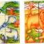 ของเล่นเด็ก จิ๊กซอว์ไม้ ตัวต่อไม้ ประเภทลูกเต๋าสัตว์ป่าในซาฟารี thumbnail 3