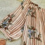 เสื้อแฟชั่น Floral and Stripe Top thumbnail 9