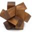 เกมส์ไม้ Lumberjack ไม้ไขว้ปริศนา ของเล่นเสริมพัฒนาการ ของเล่นไม้ thumbnail 1