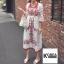 แม็กซี่เดรส Boho Embroidery Maxi Dress thumbnail 1