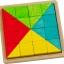 ของเล่นเสริมสร้างจินตนาการ ของเล่นฝึกสมอง กระดานไม้รูปทรงพื้นฐาน thumbnail 1