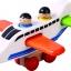 ของเล่นเสริมสร้างจิตนาการ ตัวต่อไม้ กับของเล่นไม้ เครื่องบินเวหา thumbnail 1